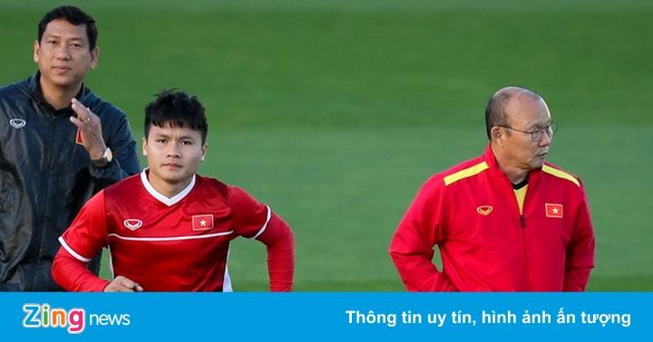 HLV Park Hang-seo dặn riêng Quang Hải hai ngày trước khi gặp Iraq