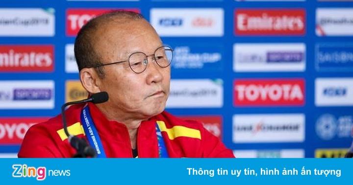 """HLV Park Hang-seo: """"U23 Việt Nam hiện nay không bằng lứa Thường Châu"""""""