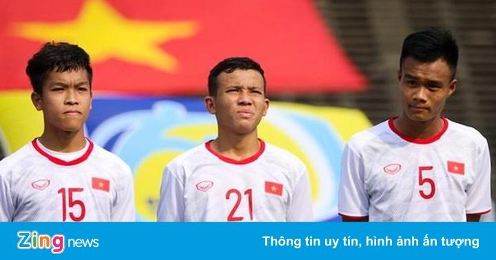 Hậu vệ suýt cắn lưỡi ở V.League là thành viên U22 Việt Nam