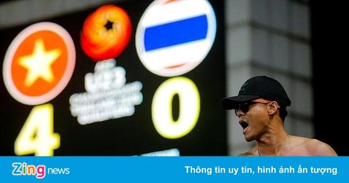 Bóng đá trẻ Thái Lan vỡ mộng trước bức tường châu Á