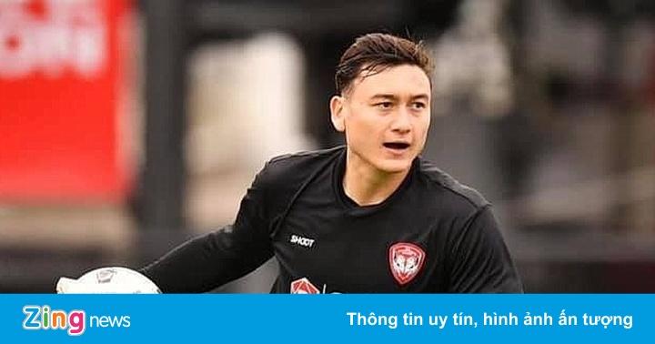 Văn Lâm đã thắng thủ môn người Thái Lan ở Muangthong United