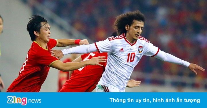 UAE xin đăng cai bảng đấu có tuyển Việt Nam