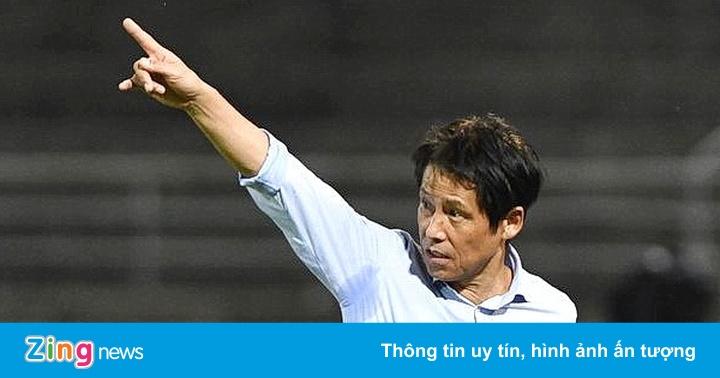 Thái Lan chưa sa thải HLV Nishino