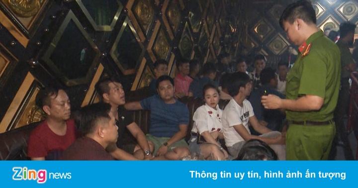 35 khách dương tính ma túy trong quán bar ở Đà Nẵng