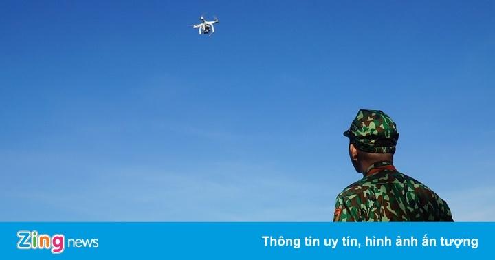 Dùng flycam truy tìm kẻ sát nhân 2 lần trốn trại giam quân đội