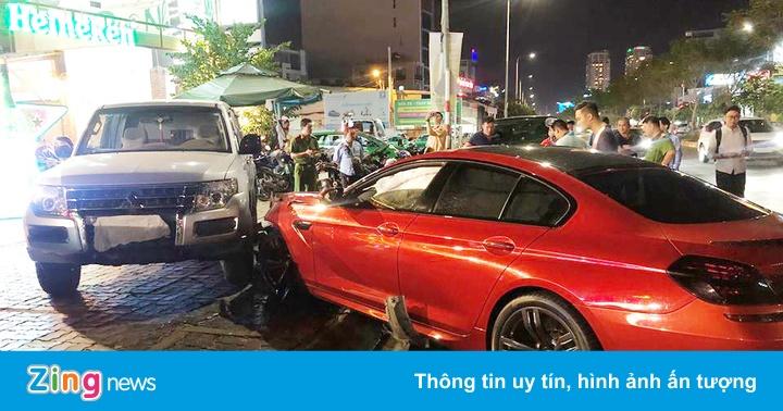 9X lái BMW khai xe bị mất lái, gây tai nạn liên hoàn ở Sài Gòn