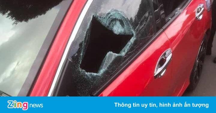 35 ôtô bị nhóm thanh thiếu niên đập phá