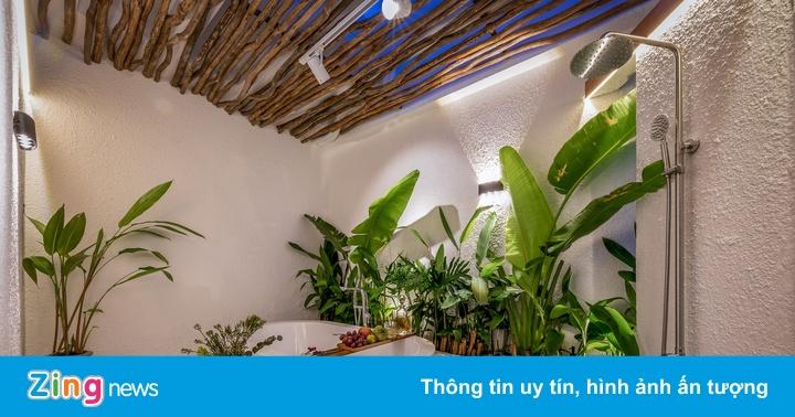Ngôi nhà phong cách nghỉ dưỡng ở TP.HCM