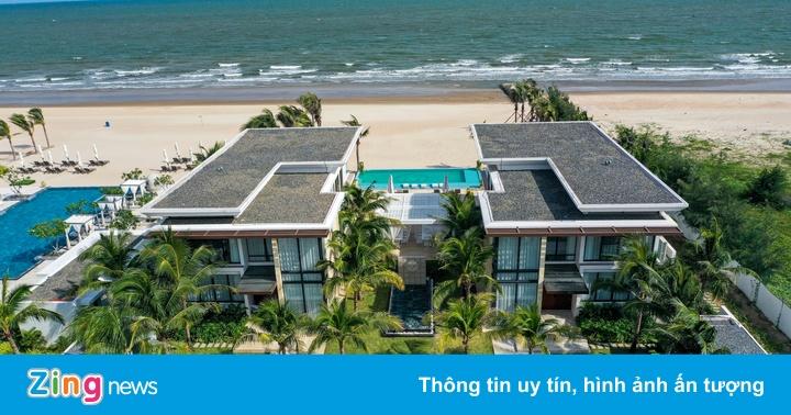 Biệt thự biển 5 sao giá 40 tỷ đồng/căn ở Hồ Tràm