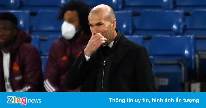 Real Madrid gục ngã vì sai lầm của Zidane
