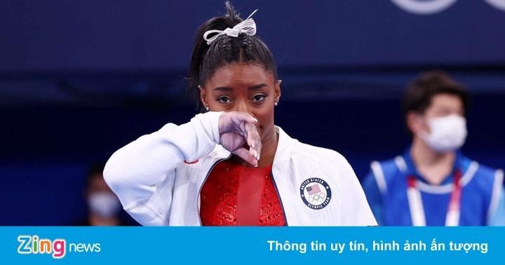 Simone Biles tiếp tục rút khỏi 2 nội dung ở Olympic 2020