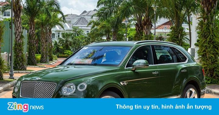 Những siêu xe, xe siêu sang màu độc tại Việt Nam