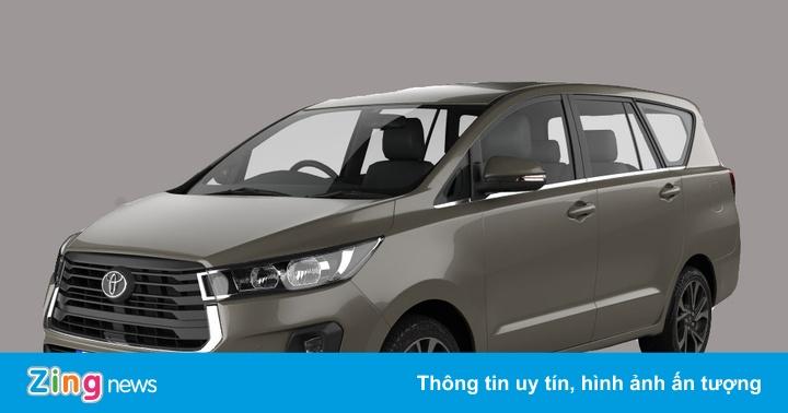 Lộ mô hình 3D của Toyota Innova 2021