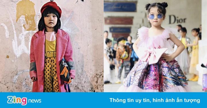 Bé gái vô gia cư đi học lớp catwalk, xuất hiện ở Tuần lễ Thời trang