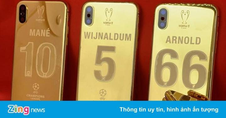 Vô địch C1, cầu thủ Liverpool được tặng iPhone XS mạ vàng