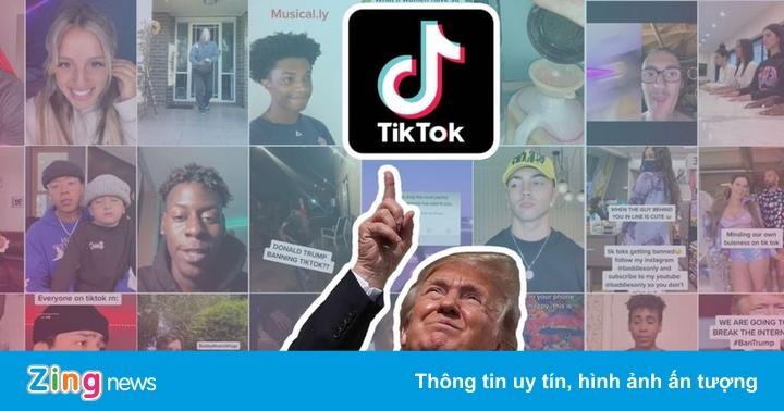 Hành trình ông Trump chặn đường làm ăn của TikTok - xs chủ nhật