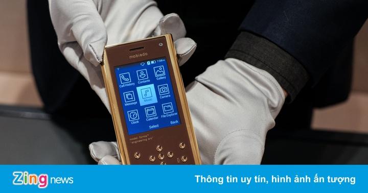 Mobiado ra mắt điện thoại cục gạch giá 90 triệu tại Việt Nam