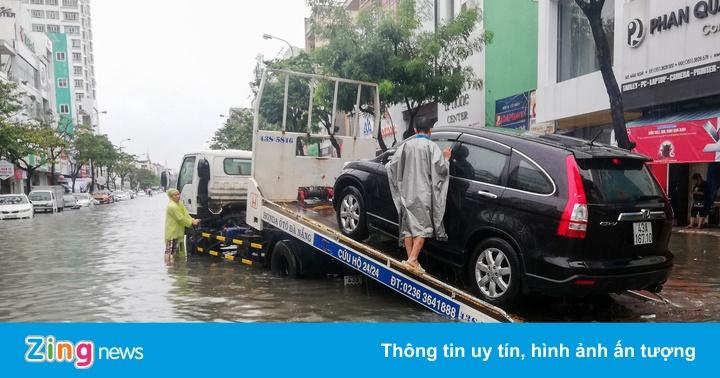Mưa lớn tiếp tục đổ xuống, Đà Nẵng lại ngập sâu - Thời sự