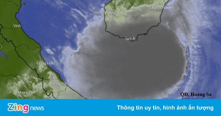 Tâm bão số 8 hướng vào Quảng Bình