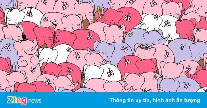 Thử độ tinh mắt với thử thách tìm trái tim Valentine giữa bầy voi