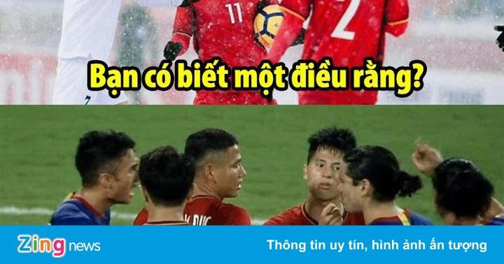 """Ảnh chế Trọng """"gắt"""", Quang Hải được 4 cầu thủ Philippines xin chữ ký – Cộng đồng mạng"""