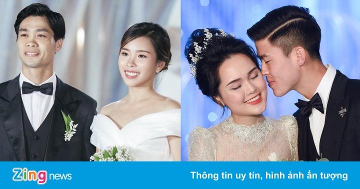 Vợ Công Phượng đẹp dịu dàng, cô dâu của Duy Mạnh lộng lẫy ngày cưới