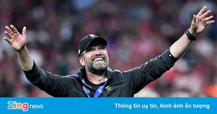 HLV Klopp: 'Thật khó để tưởng tượng ngày rời Liverpool'