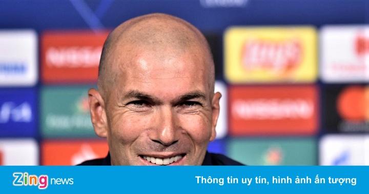 HLV Zidane: ''Tôi muốn ở lại Real Madrid mãi mãi''