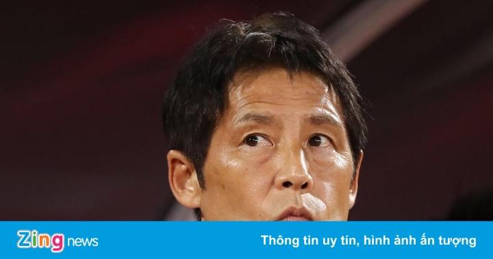 HLV Nishino không lo tổn thất lực lượng ở trận gặp Việt Nam