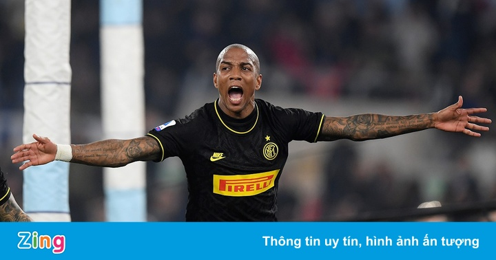 Lazio 2-1 Inter: Ashley Young tỏa sáng