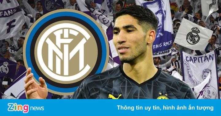 Inter Milan chiêu mộ Hakimi với giá kỷ lục từ Real Madrid