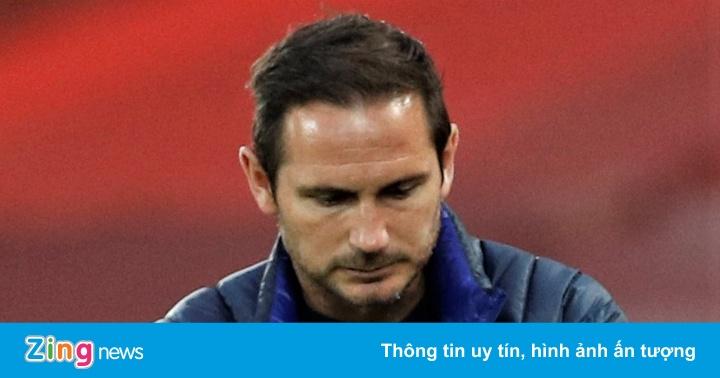 Chelsea sa thải Frank Lampard