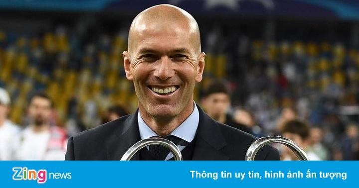 Báo Pháp chọn Zidane là HLV hay nhất thế giới