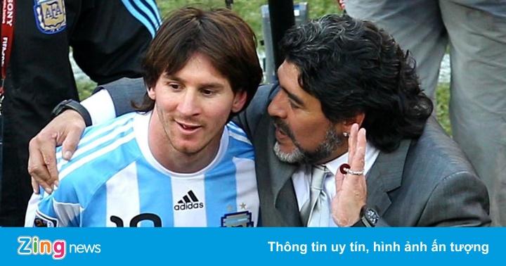 Lionel Messi: 'Diego Maradona là vĩnh cửu'