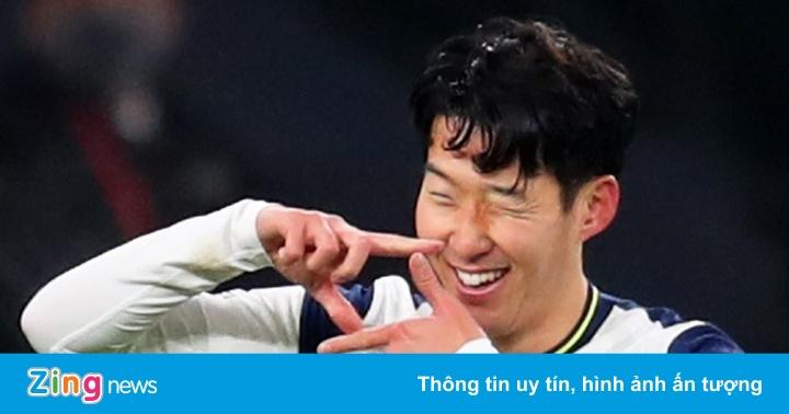 Ý nghĩa sau màn ăn mừng của Son Heung-min