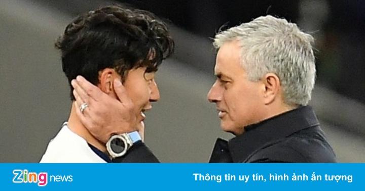 Son Heung-min tri ân Mourinho