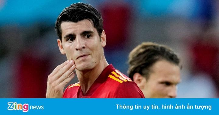 Tây Ban Nha gây thất vọng ở trận ra quân tại Euro 2020