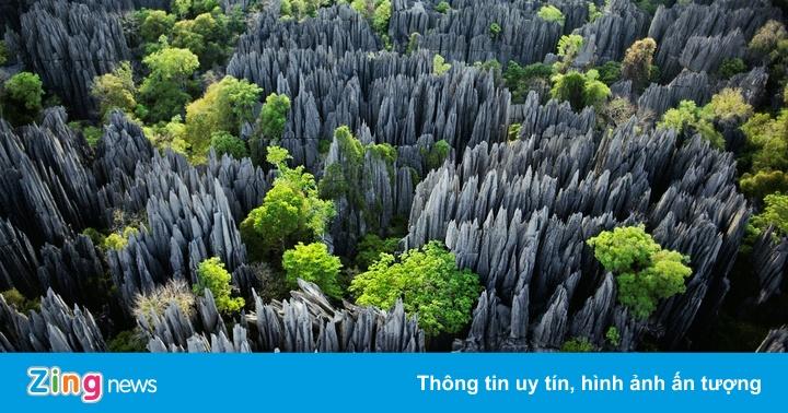 Những tuyệt tác cảnh quan núi đá khắp thế giới