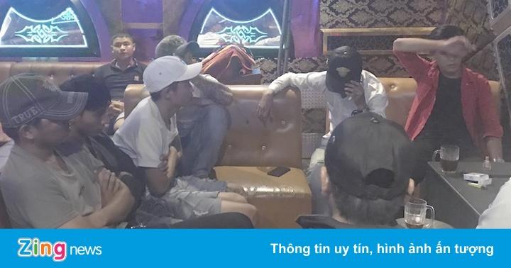 15 người dương tính với ma túy trong quán karaoke