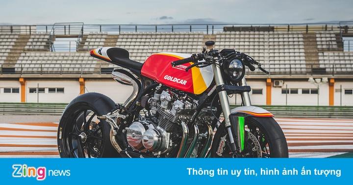 Dòng máu tốc độ Tây Ban Nha trên Honda CB750