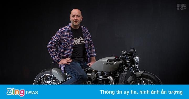 Triumph Bonneville độ phong cách Bobber tuyệt đẹp đến từ Bỉ
