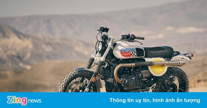 Chi tiết BMW R NineT phiên bản sa mạc