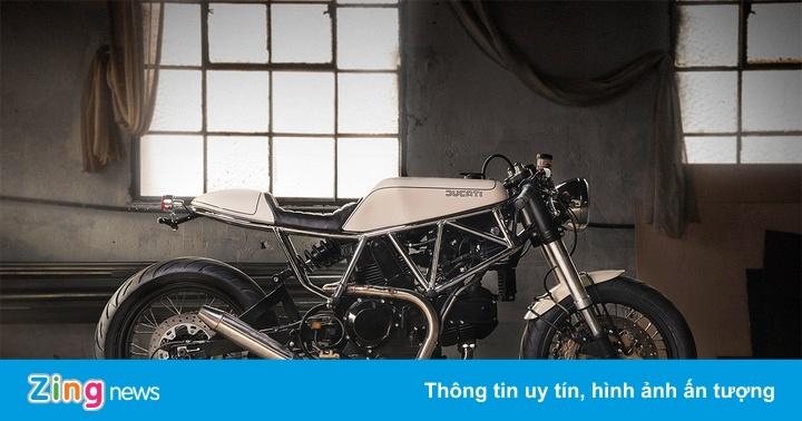 Ducati 900 SS độ phong cách ngựa hoang