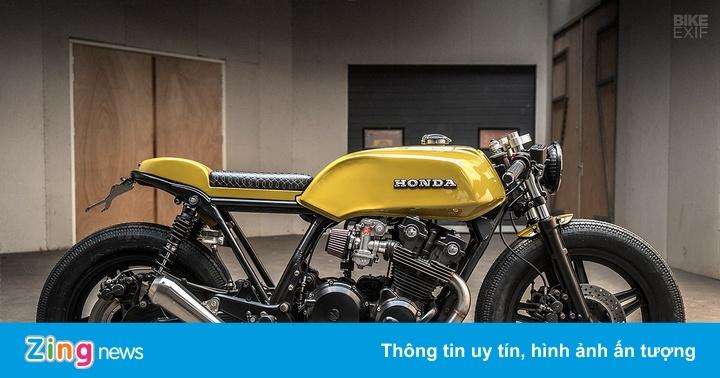 Chi tiết Honda CB750 độ độc đáo ở Hà Lan