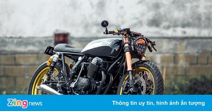 Honda CB750 phong cách cafe racer từ xứ sở chuột túi