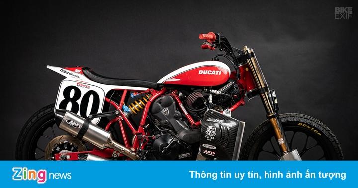 Mẫu Flat Tracker Ducati đầu tiên của Lloyd Brothers