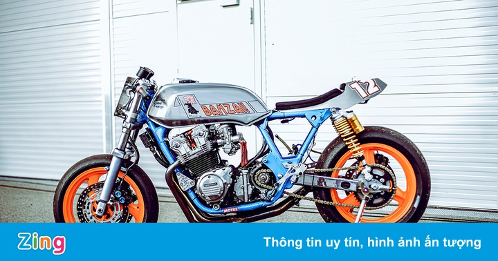 Cỗ máy tốc độ Honda CB900F Banzai – Bolle
