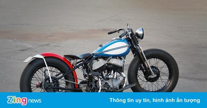 Chiếc Harley-Davidson phong cách bobber độc đáo