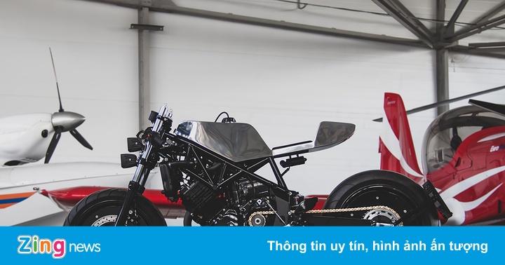 Cận cảnh mẫu độ cafe – streetfighter Yamaha TRX850 từ Nga