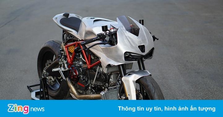 Cận cảnh mẫu độ Ducati Cafe fighter từ Italy